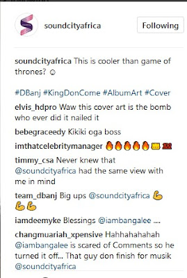 D'Banj New Album Cover look Cooler Than The Game Of Thrones ?