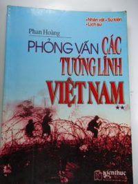 Phỏng vấn tướng lĩnh Việt Nam