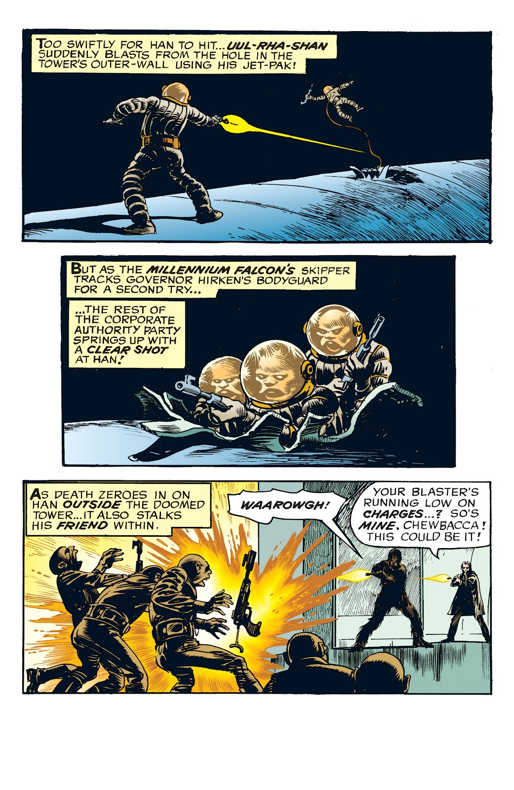 Read online Star Wars Legends: The Newspaper Strips - Epic Collection comic -  Issue # TPB (Part 4) - 74