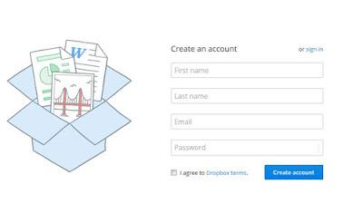 برنامج دروبوكس لرفع الملفات على الانترنت