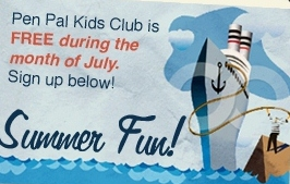 Summer Fun - Pen Pal Kids Club Review & Giveaway! {CLOSED