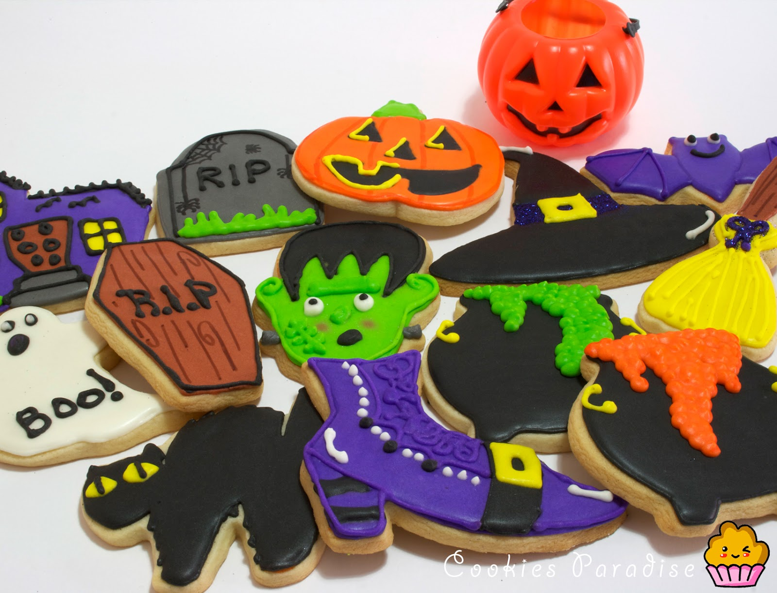 Galletas Decoradas Hallowen Cookies Paradise Galletas Para Halloween Terroriiificas