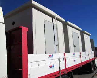 transporte casetas de hormigón