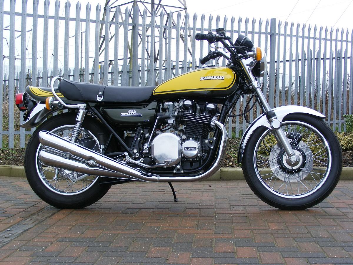 clasic auto motor: kawasaki z1 1972