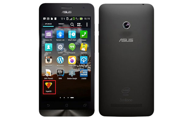 Tutorial Cara Root Smartphone Asus Zenfone 4 Via PC dan Tanpa PC