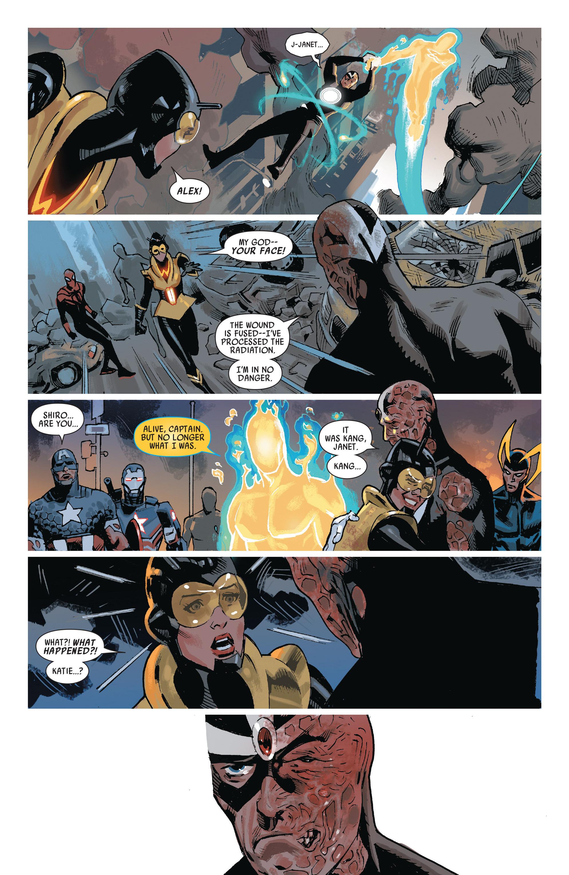 Read online Uncanny Avengers (2012) comic -  Issue #22 - 19