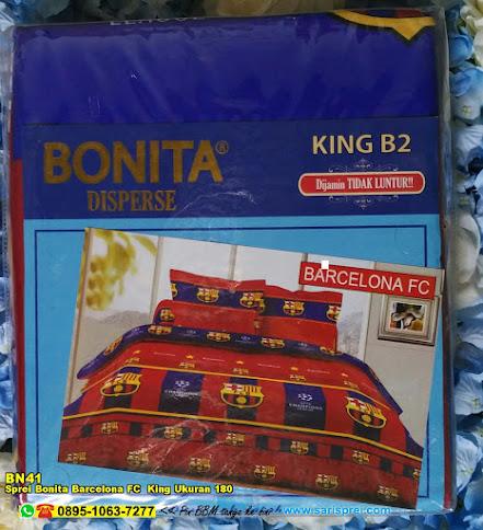 Sprei Bonita Barcelona FC  King Ukuran 180