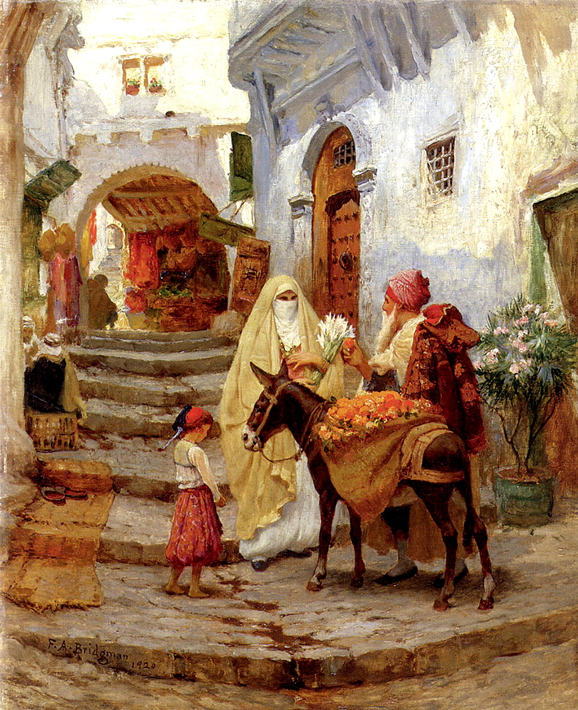 19th Century American Paintings Frederick Arthur Bridgman