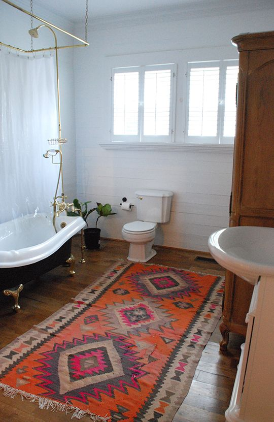 Moon To Rugs In Bathrooms