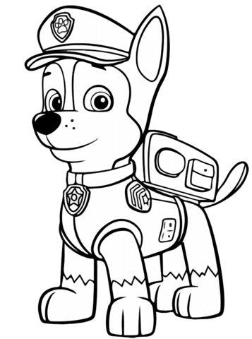 Tranh tô màu những chú chó cứu hộ