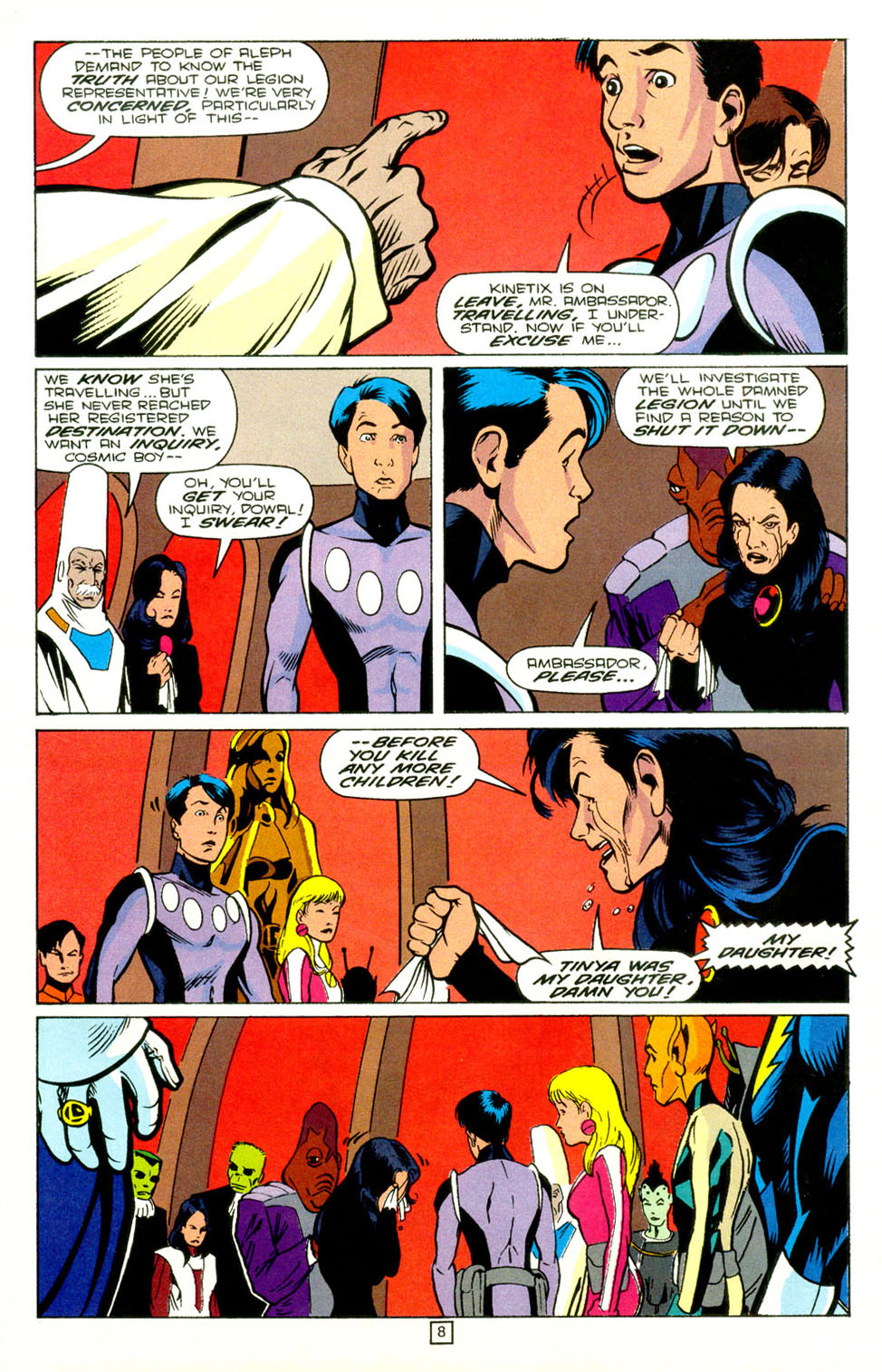 Legion of Super-Heroes (1989) 72 Page 9