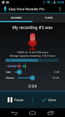 Easy Voice Recorder Pro - 1