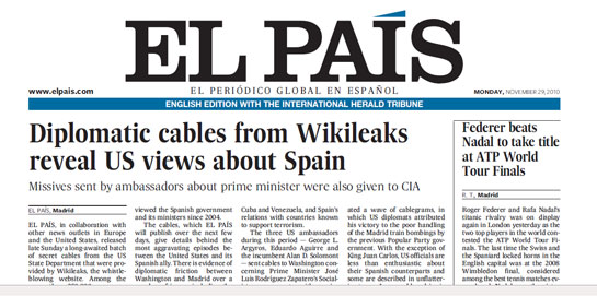Read EL PAIS in English
