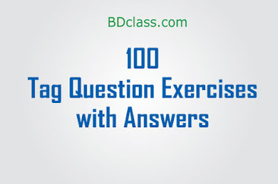 100 Question Tags Examples