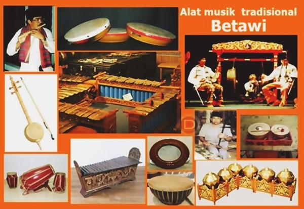Alat Musik Tradisional Betawi Provinsi Dki Jakarta Dtechnoindo