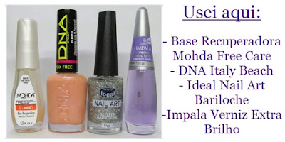 Esmaltes DNA Italy Beach e Ideal Bariloche