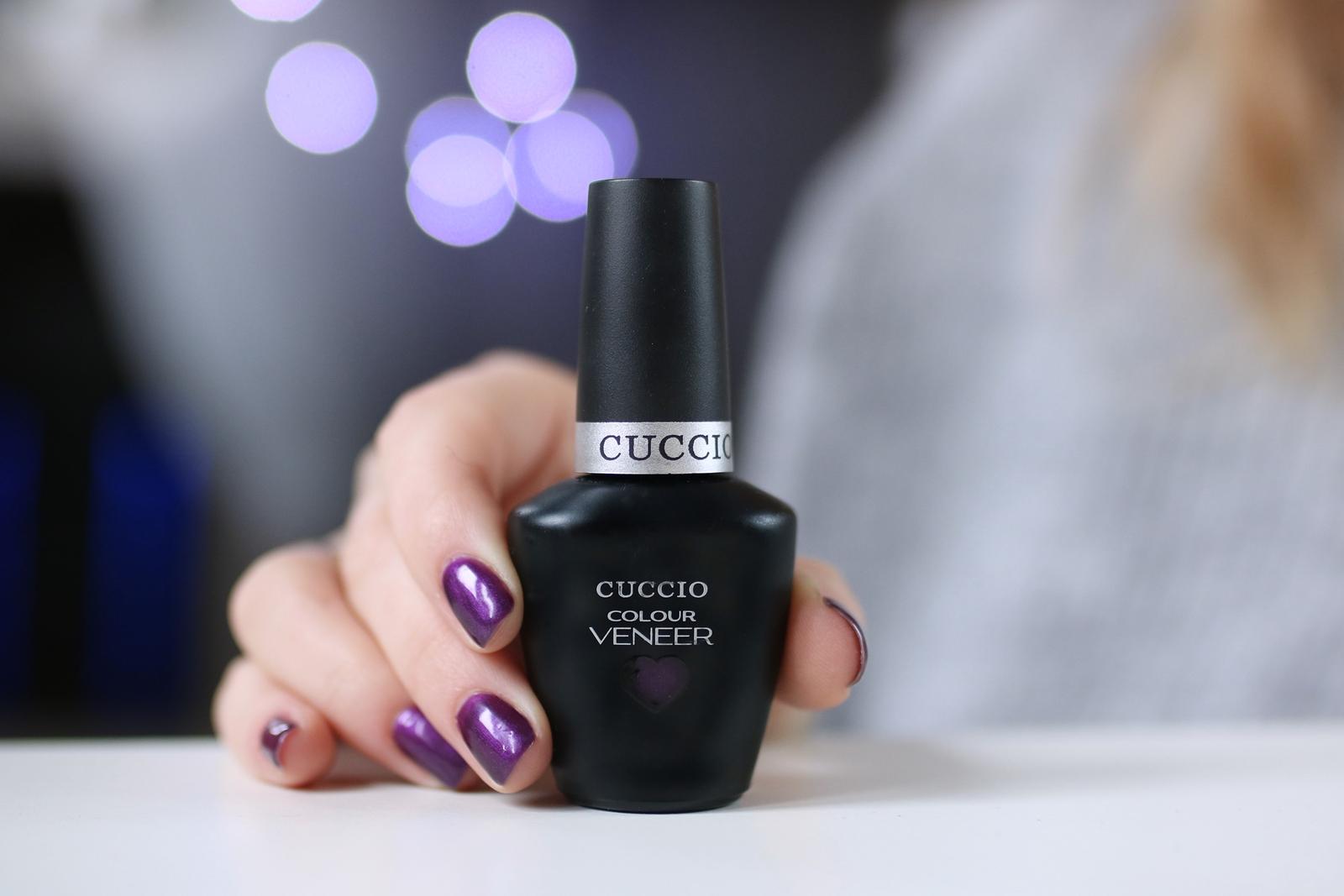 Cuccio Veneer - Brooklyn never sleeps - fioletowy lakier hybrydowy