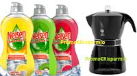 Logo Concorso ''Acquista Nelsen e puoi vincere ogni giorno una Mokissima Bialetti''
