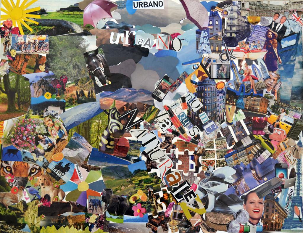 Cuaderno de rodaje collages de los alumnos - Como hacer un collage de fotos a mano ...