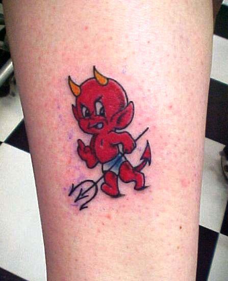Tattoo Designs Devil: Baby Devil Tattoos
