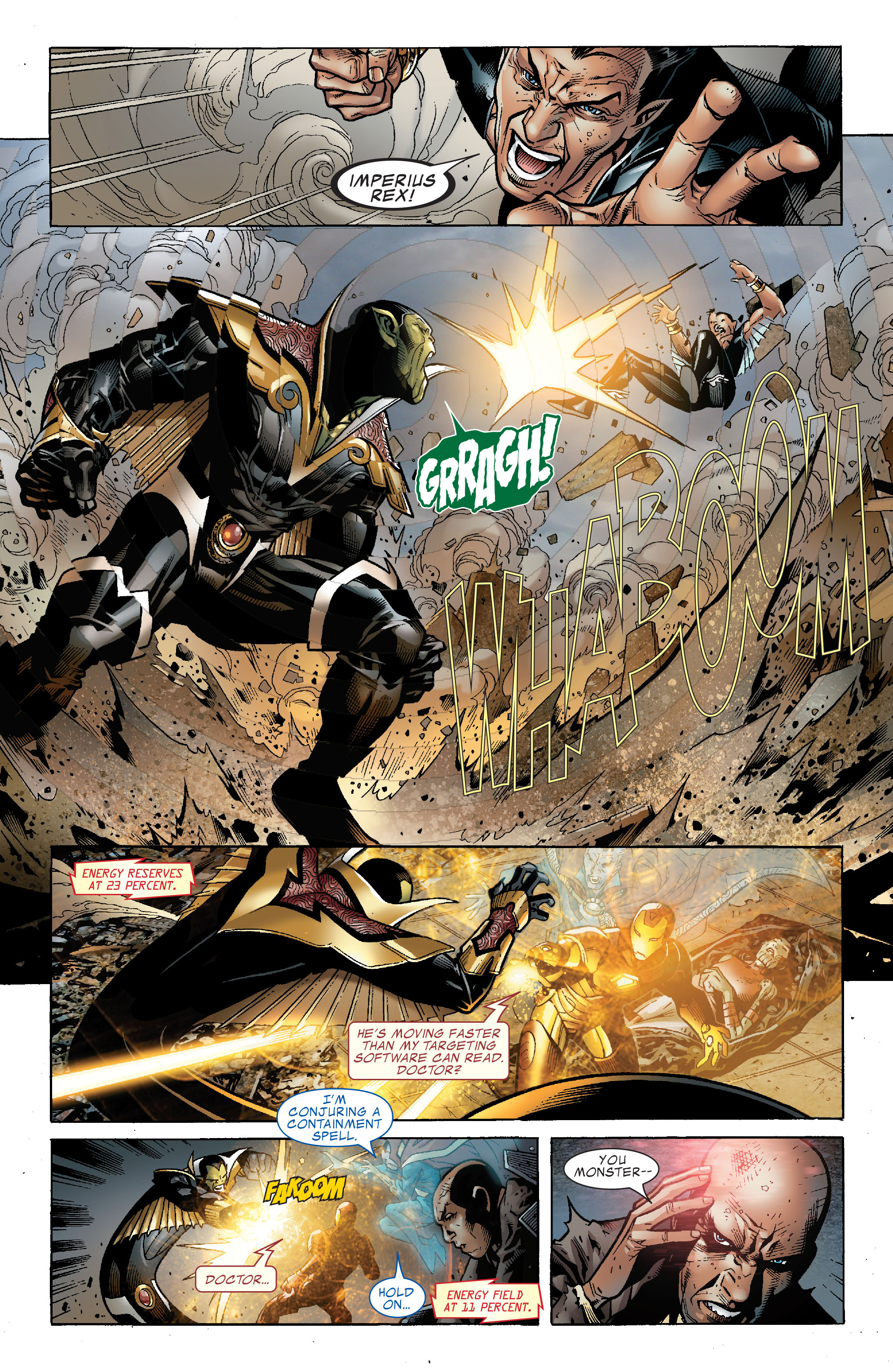 Read online Secret Invasion: The Infiltration comic -  Issue #2 - 12