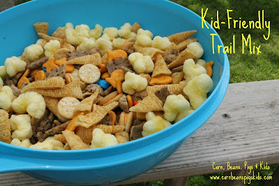 3 Kid-Friendly 4th of July Treats - Kid Friendly Trail Mix