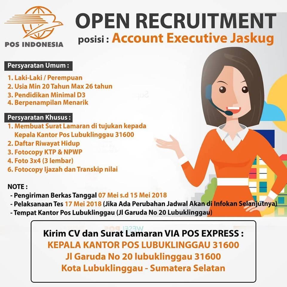 Lowongan Kerja Lowongan Kerja Pt Pos Indonesia Persero