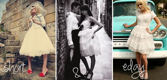 A Short Story: Sweet Ideas for Short Summer Wedding Dresses