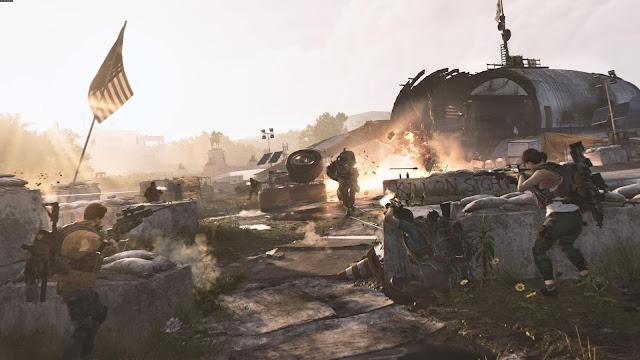المزيد من العروض لطريقة اللعب من داخل The Division 2 و نظرة عن الخريطة و عالم اللعبة ..