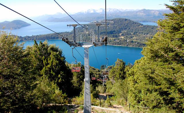 O dá para ver do Cerro Campanário em Bariloche