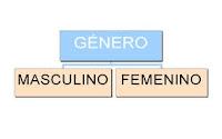 Resultado de imagen de el genero del sustantivo masculino y femenino