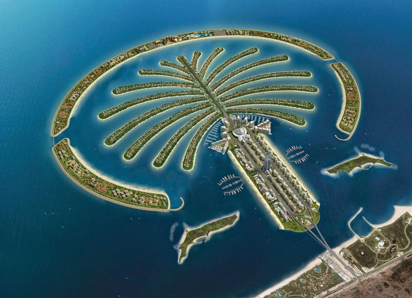 Attractive Destinations in Dubai - Palm Jumeriah