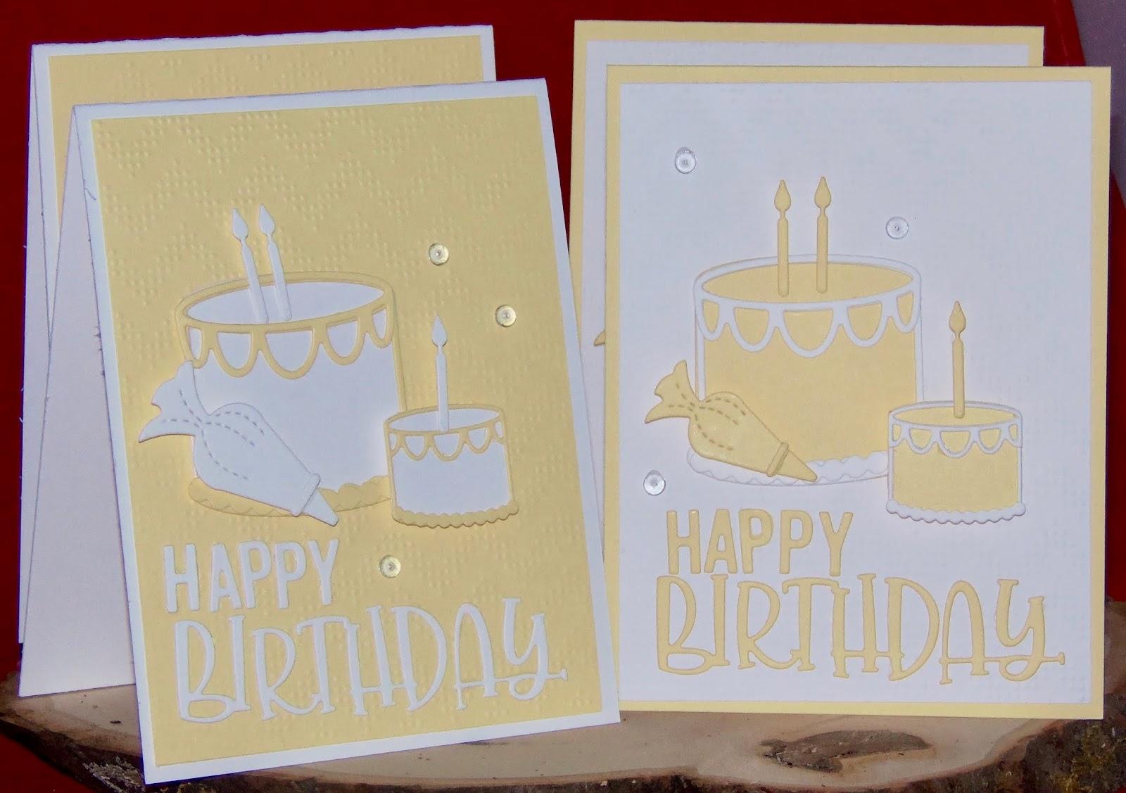 Girlia\'s Cards: Happy Birthday