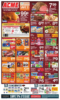 ⭐ Acme Ad 11/15/19 ⭐ Acme Weekly Flyer November 15 2019