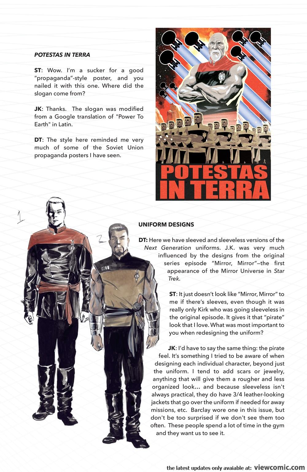 Free Comic Book Day 2017 – Star Trek-TNG – Mirror Broken 00