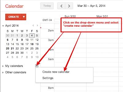 A Very Good Google Calendar Guide for Teachers