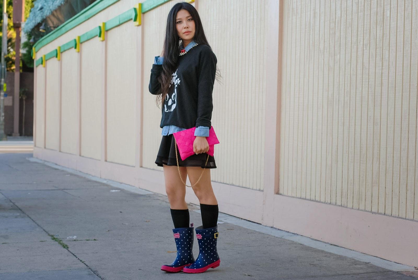 Gbf How I Wear Rain Boots In La Drizzle