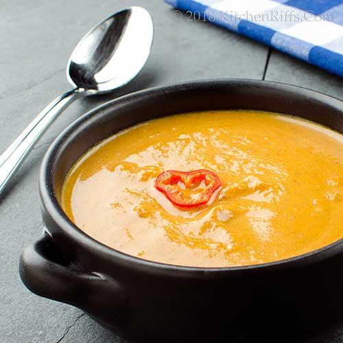 Pumpkin-Spice Pumpkin Soup