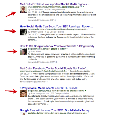 google+ as seo booster