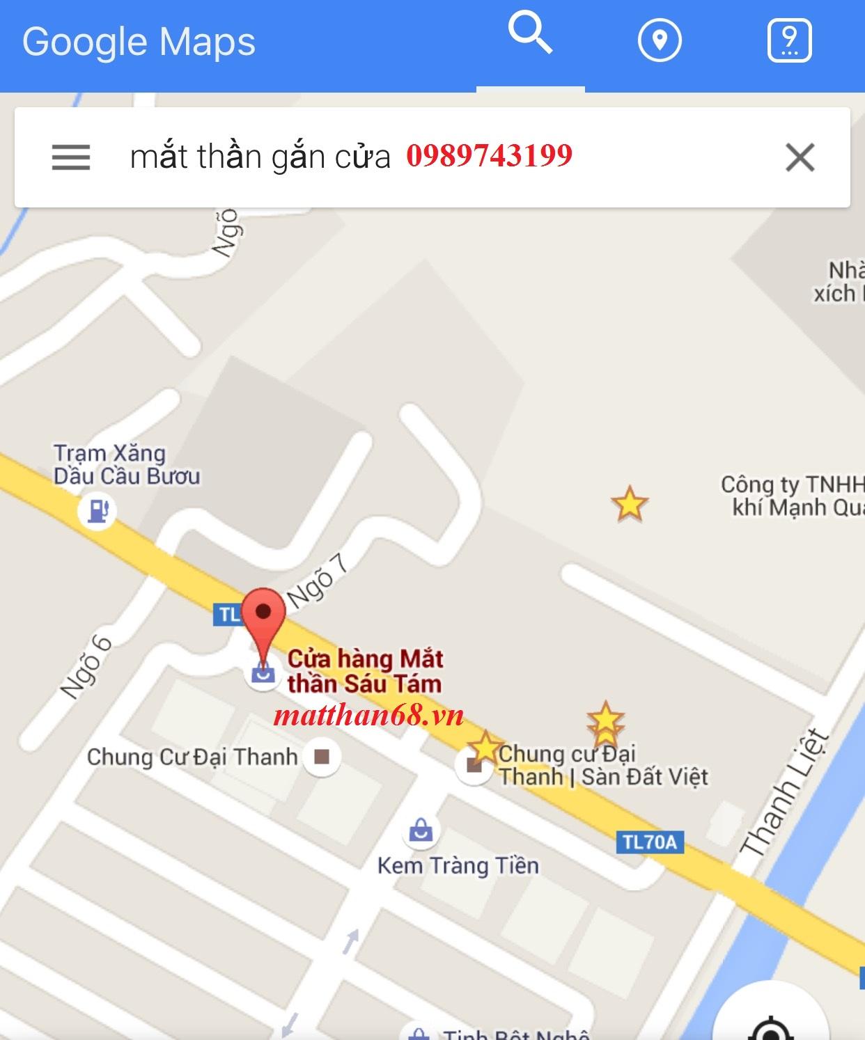 Địa chỉ văn phòng công ty trên google maps
