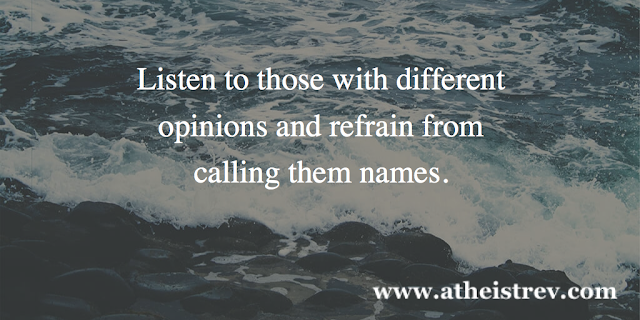 Listen to those with different opinions...