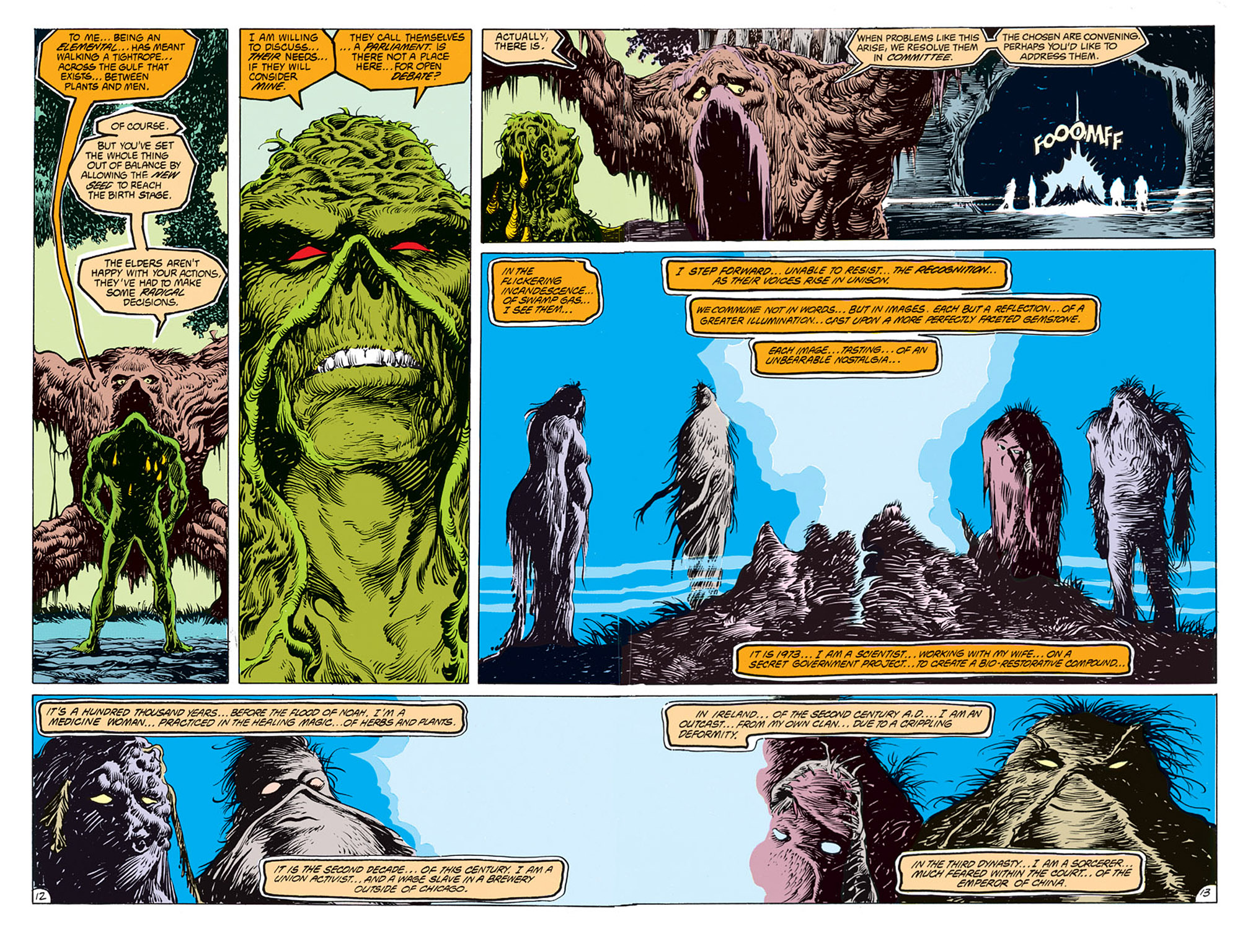 Swamp Thing (1982) Issue #68 #76 - English 11