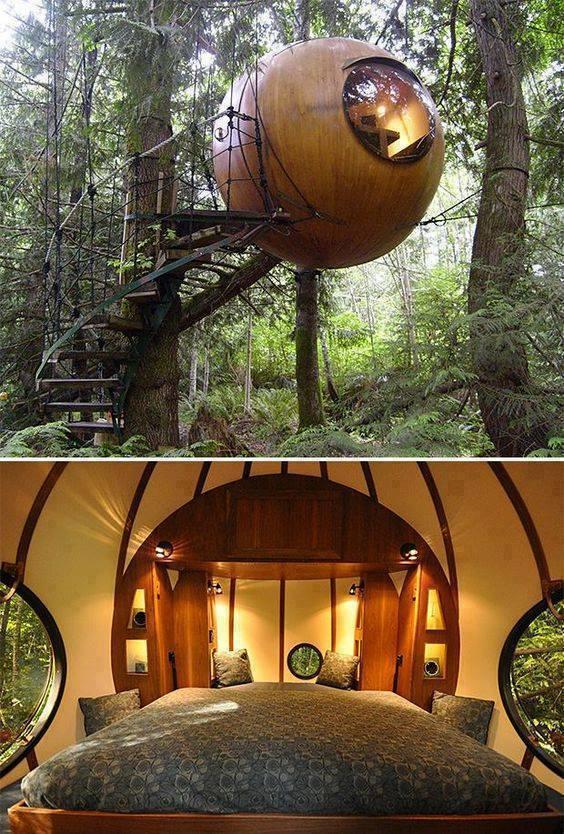 DIY%2BLuxury%2BTree%2BHouses%2B%25284%2529 10 DIY Luxury Tree Houses Interior