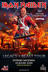 "Iron Maiden ""Legacy of the Beast"" tour"