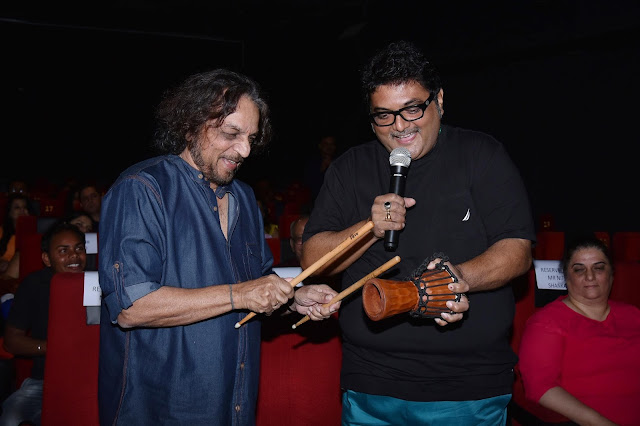 Music Director Babla with Nitin Shankar Playing instrument used in one othe songs of DON