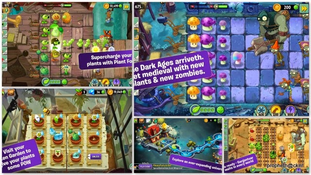 plants vs zombies android app