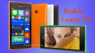 NokiaLumia 730: 1.2 GHz Quad-Core Windows Smartphone Specs, Price