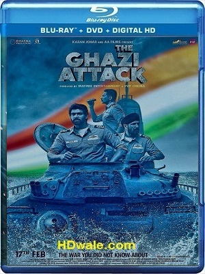 The Ghazi Attack Movie Download Hindi (2017) 1080p & 720p BluRay