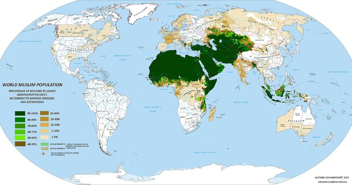 Anzahl Muslime Weltweit