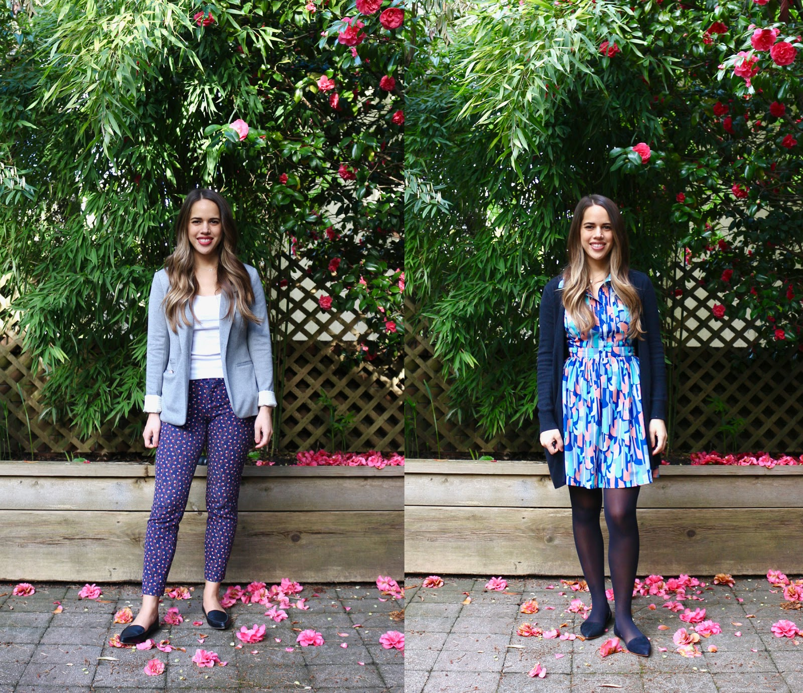 Jules in Flats: April Outfits (Business Casual Spring Workwear on a Budget)